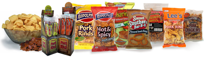 Rudolph Pork Rind Products