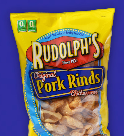 Rudolph's Original Pork Rinds