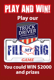 RudolphsPorkRinds TruckDriverAppreciationDay PlayAndWin Pork rinds, truck drivers and a whole lotta chances to win!