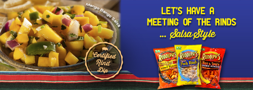 Rudolph's Pork Rinds celebrates National Salsa Month