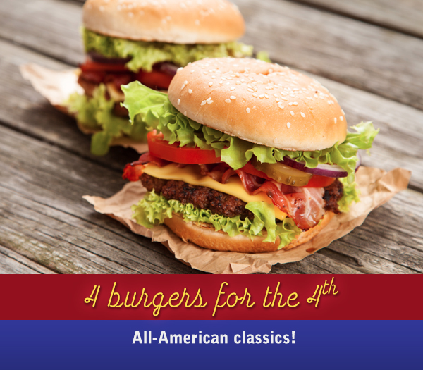 Rudolphs BlogPins BurgerMonth 4 All American Pork Rind Burgers<br /> for the 4th