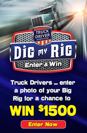 Dig My Rig - Rudolph Foods Truck Driver Appreciation 2014 Contest