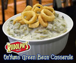 onyums green bean casserole Make This Thanksgiving … Crunch giving!